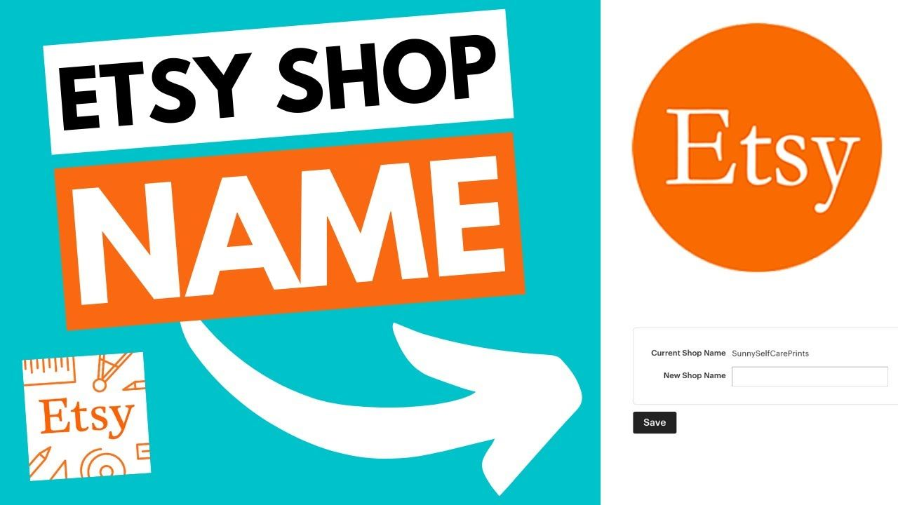 How To Change Your Etsy Shop Name | Etsy Tutorial For Beginners