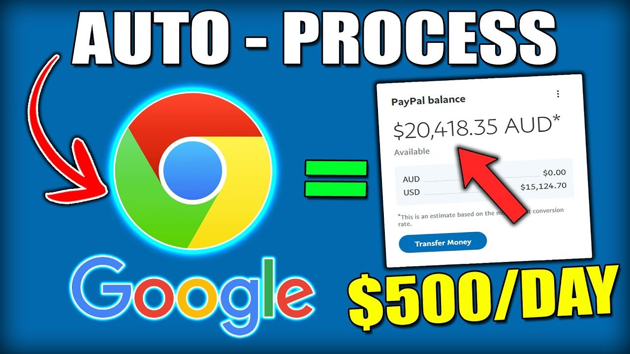 How to Make Money Onlne & Earn $500 a Day Using Google With An Auto Process Strategy – DONE FOR YOU