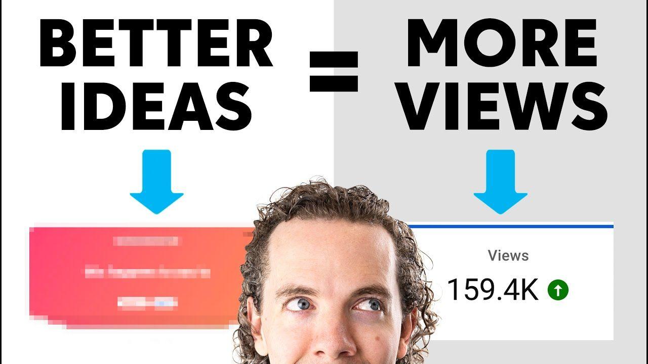 Where To Get YouTube Video Ideas (3.34 Non-obvious Ways)
