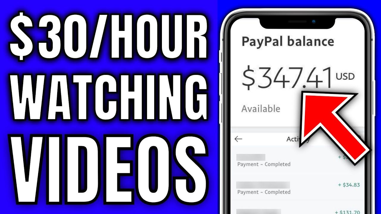 Earn $30 Per Hour Watching Videos (Easy Way To Make Money Online)