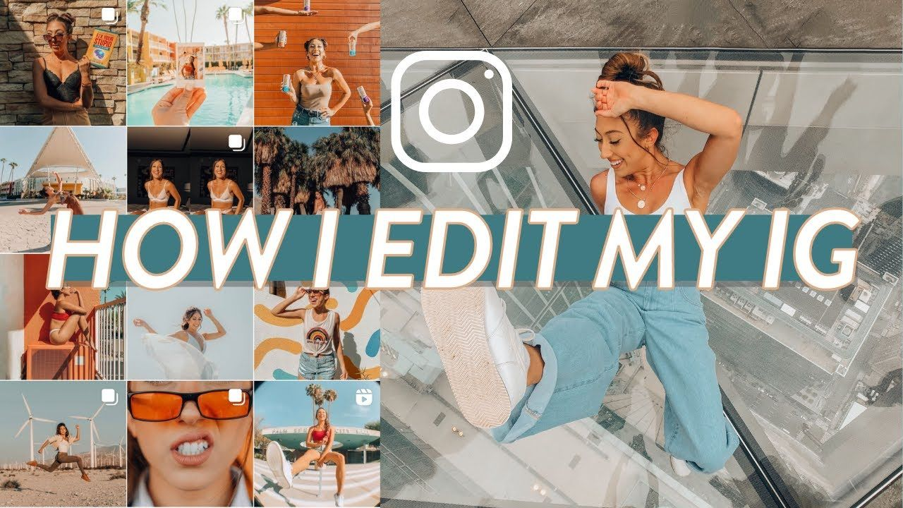 HOW I EDIT MY INSTAGRAM PHOTOS | Free, Easy, Consistent, orange & teal, removing objects from photos