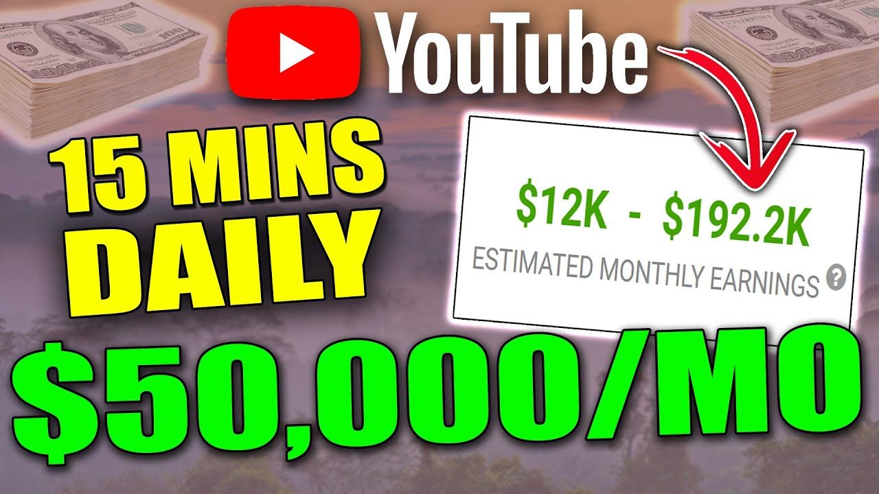 HOW TO MAKE MONEY ON YOUTUBE WITHOUT MAKING VIDEOS YOURSELF EVER AGAIN!