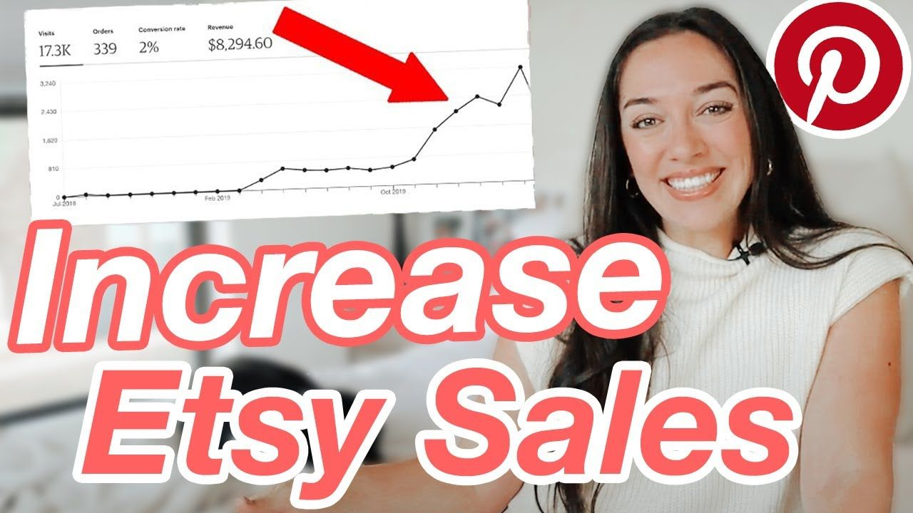 How to Increase Etsy Traffic With Pinterest (UPDATED), How to Get More Sales on Etsy