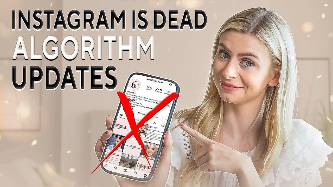 INSTAGRAM IS DEAD. Algorithm Update & How I'm STILL Growing 20K+ Followers Per Week.