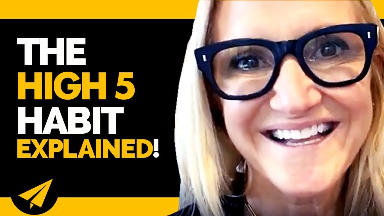 Take Complete CONTROL of Your Life by Using the High 5 HABIT!   Mel Robbins Interview